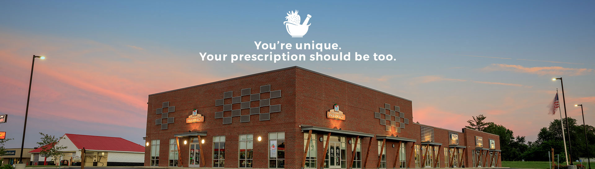 You're unique. Your prescription should be too.